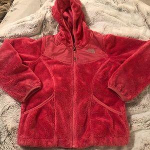 Northface Pink Fleece Hoodie